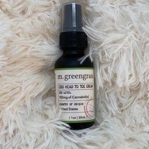 M. Greengrass cream